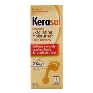 Kerasal Exfoliating Moisturizing Foot Ointment, 1 oz