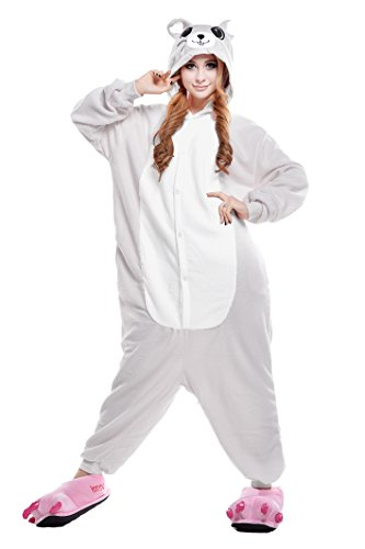 NEWCOSPLAY Halloween Cartoon Cosplay Costumes Adult Unicorn Pajamas