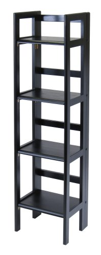 winsome-wood-folding-4-tier-shelf-black