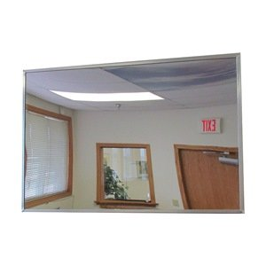 Frameless Flat Mirror, 12 x 18 In H, Glass