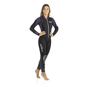 Cressi Lady Front-Zip Full Wetsuit for Water Activities – Bahia & new Bahia Flex