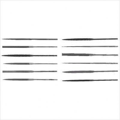 Apex Nicholson 37954 6-1/4'' Rhn-2 Three Square Needle File