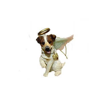 Jack Russell Angel Dog Ornament