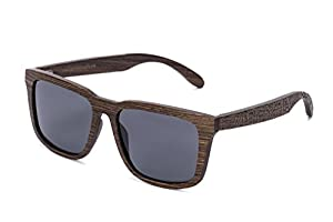 Tree Tribe Woodsman Sunglasses, Polarized Lens - Real Wood Frames