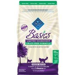 Blue Buffalo Basics Indoor Adult Recipe - Turkey & Potato - 11lb