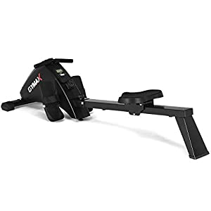 Well-Being-Matters 31G5OzWfw3L._SS300_ Goplus Magnetic Rowing Machine Foldable Exercise Rower with 10-Level Tension Resistance System, LCD Monitor, Transport…