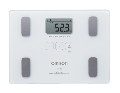 Omron KARADA Scan Body Composition & Scale   HBF-212 White (Japanese Import)