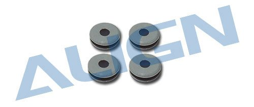Align/T-Rex Helicopters Canopy Nut Rubber Grommet All ()