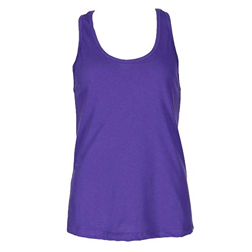 Next Level Apparel Women's Ideal Racerback Tank - X-Large - Purple Rush