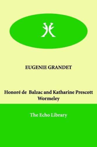 Read Online EUGENIE GRANDET pdf epub