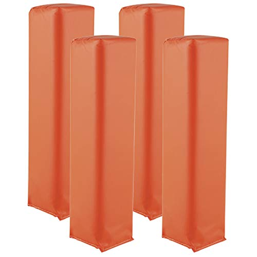 Adams Football End Zone Pylon Field Markers, Orange