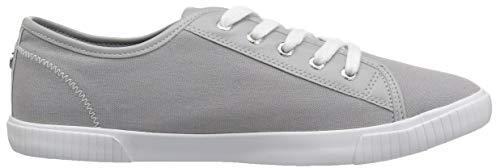 Lily Mae Canvas Nautica Women's Sneaker Grey OHq151x