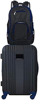 Denco 2-Piece Luggage Set Navy