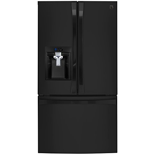 - Kenmore Elite 74099 31.7 cu. ft. French Door Bottom Freezer Refrigerator in Black, includes delivery and hookup