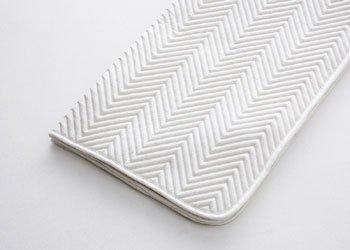 ベッドパッド クイーン50809ホワイト<日本ベッド> B004RT4ZNS
