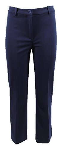 Pantaloni Donna PINKO EZIO 7 1G1331 6200 Primavera Estate 2018 Blu 46