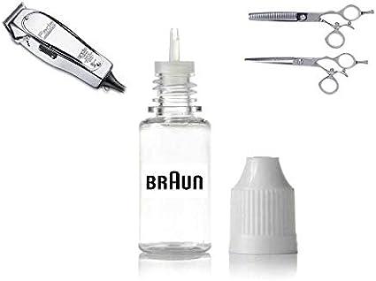 Braun cortapelos Petróleo cortapelos Recortadora aceite líquido ...