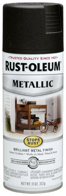 Rust-Oleum 248636 11-Ounce Metallic Finish Spray Paint, Oil Rubbed Bronze