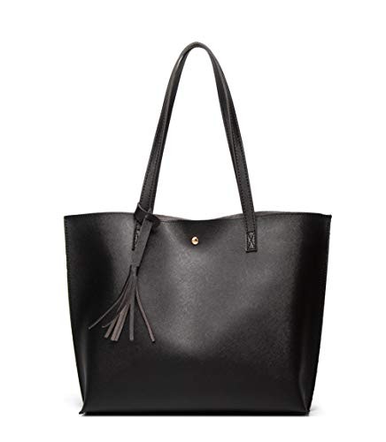 Women's Soft Faux Leather Tote...