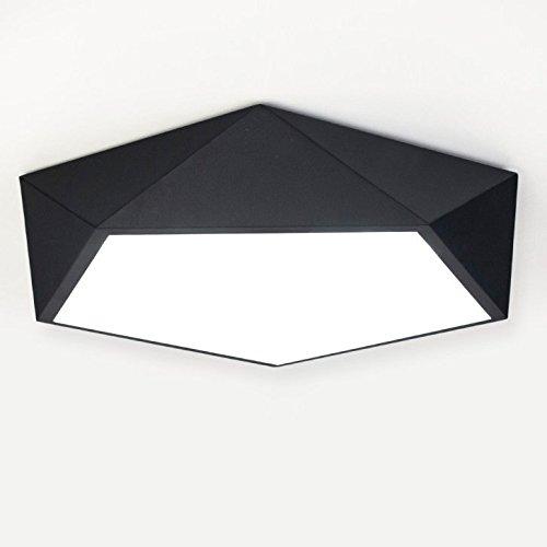 Hl374795 modern simple art metal made diamond geometric close to baycheer hl374795 modern simple art metal made diamond geometric close to ceiling light with 1 light white aloadofball Image collections