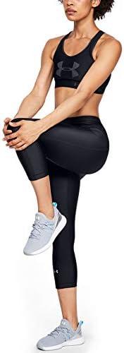 Under Armour Women's HeatGear Armour Hi-Rise Capri Leggings