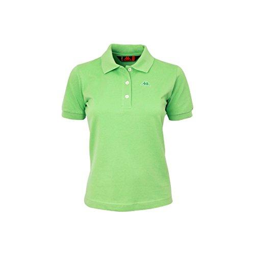 Art Polo Piquet Maglia Meadow Green shirt Kappa Robe Mare Golovin Sport Donna Di T Stretch Xx40EHP