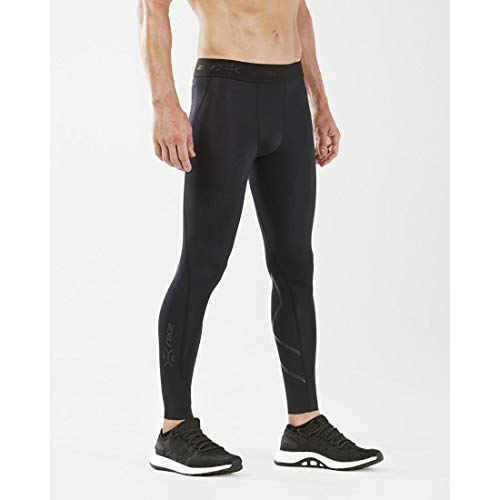 2XU Men's MCS Cross Training Compression Tights Black/Nero X-Large T T by 2XU (Image #1)