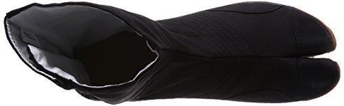 Ninja shoes, AIR JOG 6, Jika TabiSize: 25.0 cm (US size 7 ), Color: Black by Marugo (Image #1)