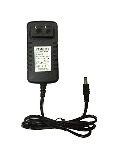 Eastchina| 12v 3a Power Adapter, Work for The Led Strip/Wireless Router, Adsl Cats, Hub, Switches, Security Cameras.Audio/Video Power Supply.