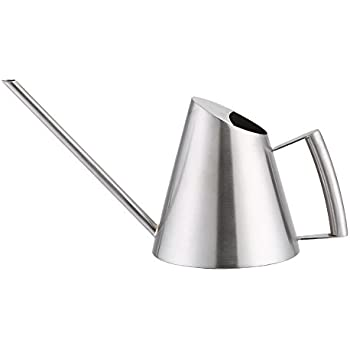 Zerone Stainless Steel Watering Can 300//500mL Garden Plant Flower Long Mouth Sprinkling Pot 300ml