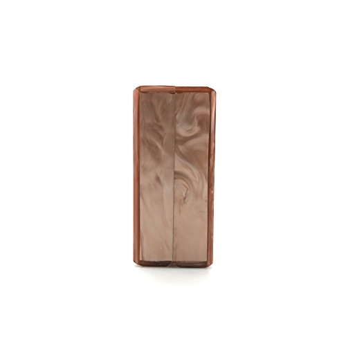 unie Satchel à sacs de Party main acrylique fourre sac tout haut Banquet soirée marbré gamme bandoulière de couleur à de Sac Brown qFXwa6Z