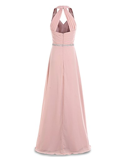 Party Chiffon Dress V Bridesmaid Neck Lilac Dress Long Bridesmay Evening Ruched 8qzZZS