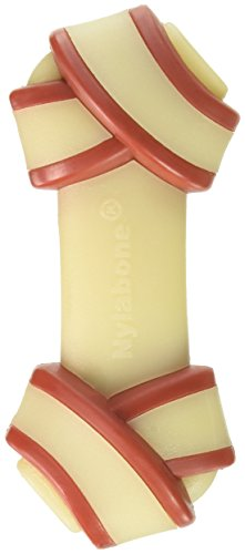 Nylabone DuraChew Rawhide Alternative Knot Bone, Dog Bone, Medium