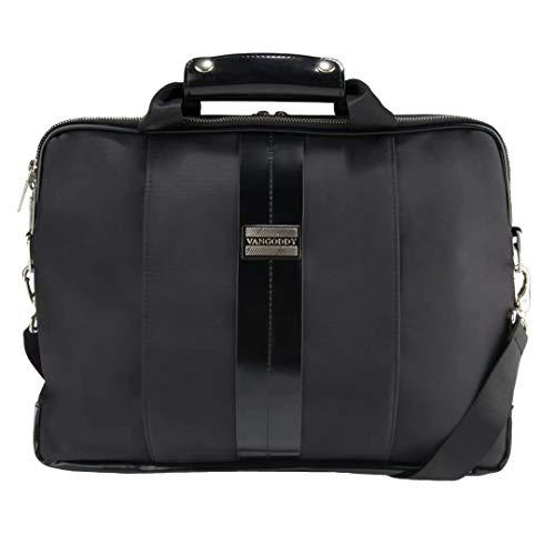 Black Convertible Laptop Bag for HP Chromebook, EliteBook, ProBook, ZBook, Essential, Stream, Envy, Spectre, Pavilion, OMEN, Laptops up to 15.75 inch