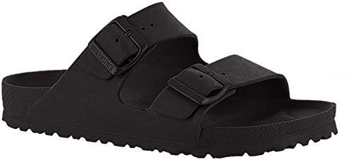 Birkenstock Unisex Arizona Essentials EVA Black Sandals - 11 B(M) US Women / 9 D(M) US Men