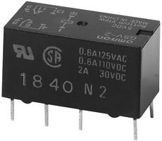 OMRON ELECTRONIC COMPONENTS G5V-2-DC5 SIGNAL RELAY DPDT 5VDC THROUGH HOLE 1 piece 2A