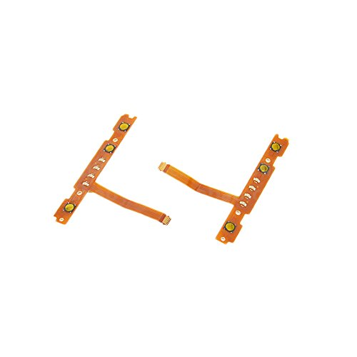 Feicuan Replacement Left & Right L/R Button Flex Cable Repair Parts for Nintendo Switch Controller Joy-Con by Feicuan