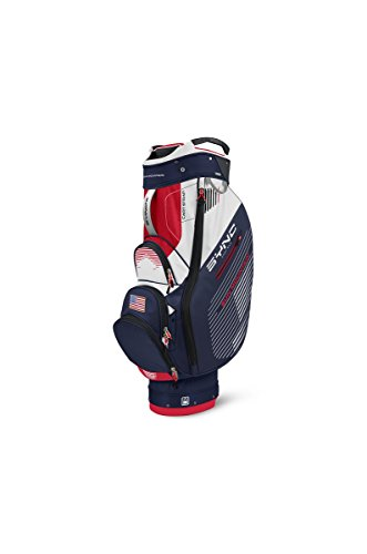 Sun Mountain Golf- 2016 Sync Cart Bag Navy-White-Red G610799
