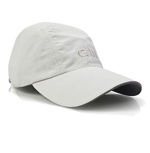 GILL Sailing Boating UV 50 Sun Protecting Regatta Baseball Cap One Size, Silver