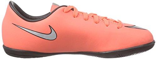 Nike Jr Mercurial Victory V IC Zapatillas de deporte, Niñas Naranja (Brght Mng / Mtllc Slvr Hypr Trq)
