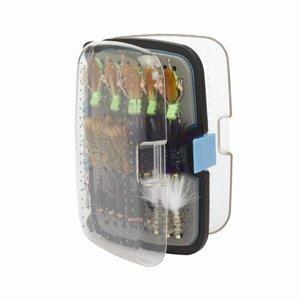 Scientific Anglers Streamer/Saltwater 72 Waterproof Fly Box (Medium, Metallic Blue), Outdoor Stuffs