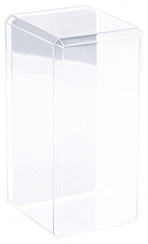 Pioneer Plastics 4 Clear Acrylic Display Cases (with Mirror) for 1:24 Scale Cars - 9'' x 4.375'' x 4.125'' by Pioneer Plastics (Image #2)