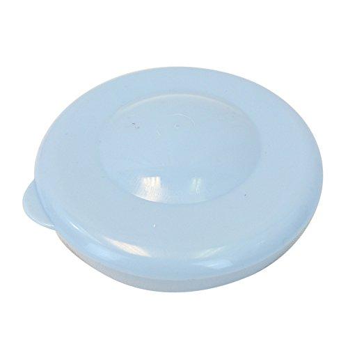 Lot of 5 Dew Caps 55mm Snap On Cap Lids Tops For 3 & 5 Gallon Water Bottles - Light Blue