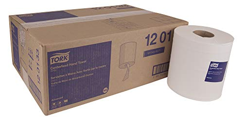 (TORK Advanced 120133 Centerfeed Hand Towel, 1-Ply, 8.25