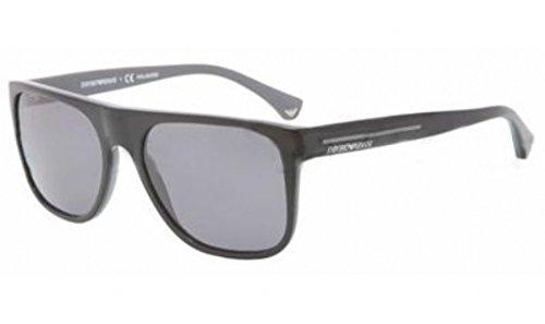 Emporio Armani Sunglasses EA 4014 Top Black On Gray/Polar Gray - Armani Emporio 2013 Sunglasses
