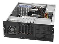 Supermicro CSE-842TQ-865B 865W 4U Tower/Rackmount Server Chassis (Black)