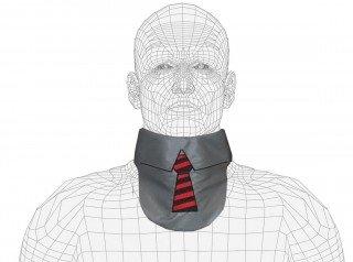 Lightweight Lead X-Ray Thyroid Collar, Necktie Design, 0.5mm Pb (Apron Lead Thyroid)