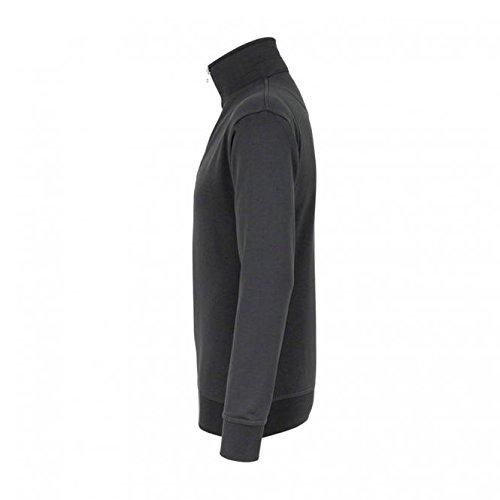 shirt Anthrazit 72 zippé Sweat Hakro 451 Premium qwF7BZqfx