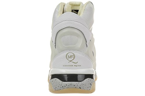 Puma McQ Run Mid by Alexander McQueen Mens Sneaker white