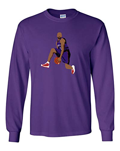 Long Sleeve Purple Toronto Carter The Dunk T-Shirt Adult ()
